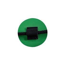 Gumotex Beschlag für umlaufendes Sicherheitsseil grün