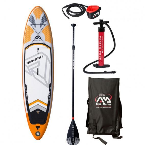Aqua Marina Magma 10.1 komplett Set aufblasbares Stand Up Paddle Board SUP