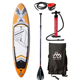 Aqua Marina Magma 10.1 komplett Set aufblasbares Stand Up Paddle Board SUP