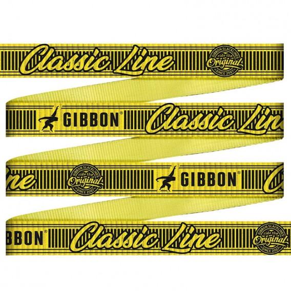 Gibbon Classic Line 15m Slackline Set mit Baumschutz hier im GIBBON-Shop günstig online bestellen