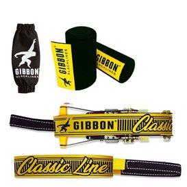 Gibbon Classic Line 15m Slackline Set mit Baumschutz