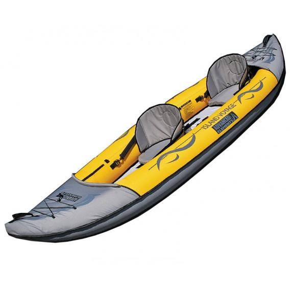 Advanced Elements Island Voyage2 Kayak 2er Kajak Luftboot gelb hier im Advanced Elements-Shop günstig online bestellen