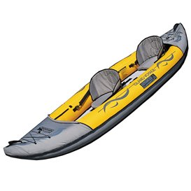 Advanced Elements Island Voyage2 Kayak 2er Kajak Luftboot gelb