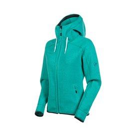 Mammut Arctic ML Hooded Jacket Damen Fleecejacke ceramic melange hier im Mammut-Shop günstig online bestellen