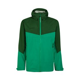 Mammut Convey Tour HS Hooded Jacket Herren Regenjacke deep emerald-woods