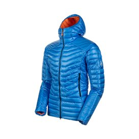 Mammut Eiger Extreme Eigerjoch Advanced Hooded Jacket Herren Daunen Winterjacke azurit hier im Mammut-Shop günstig online bestel