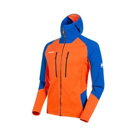Mammut Eiger Extreme Eiswand Advanced Hooded Jacket Herren Fleecejacke arumita-azurit hier im Mammut-Shop günstig online bestell
