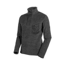 Mammut Innominata Half Zip Pull Herren Pullover black melange hier im Mammut-Shop günstig online bestellen