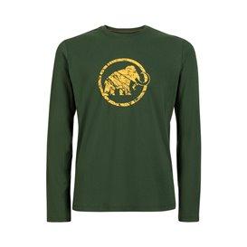 Mammut Mammut Logo Longsleeve Herren Sweatshirt Langarmshirt woods hier im Mammut-Shop günstig online bestellen