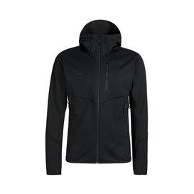 Mammut Ultimate Hooded Jacket Herren Softshelljacke black