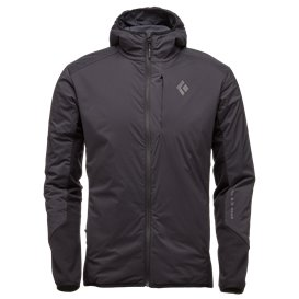 Black Diamond First Light Hybrid Hoody Herren Übergangsjacke smoke