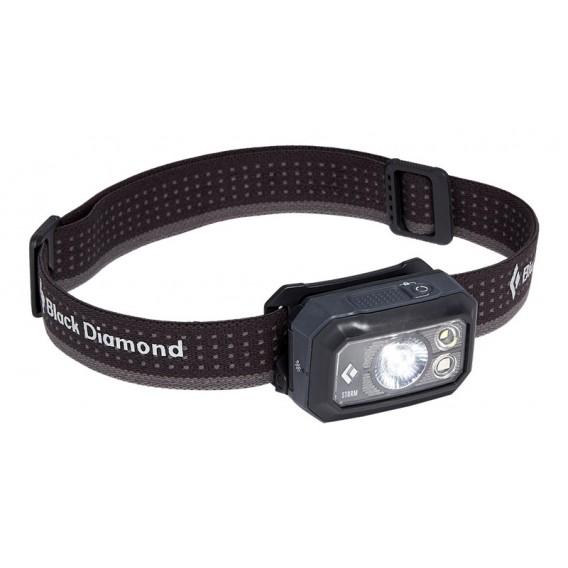 Black Diamond Storm 400 Lumen Stirnlampe Helmlampe graphite hier im Black Diamond-Shop günstig online bestellen