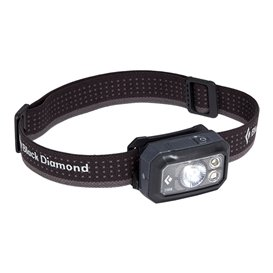 Black Diamond Storm 400 Lumen Stirnlampe Helmlampe graphite