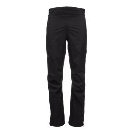 Black Diamond Stormline Stretch Full Zip Rain Pants Herren Regenhose black