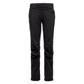 Black Diamond Stormline Stretch Rain Pants Damen Regenhose black