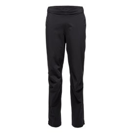 Black Diamond Stormline Stretch Rain Pants Herren Regenhose black