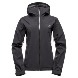 Black Diamond Stormline Stretch Rain Shell Damen Regenjacke black
