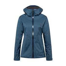Black Diamond Stormline Stretch Rain Shell Damen Regenjacke ink blue