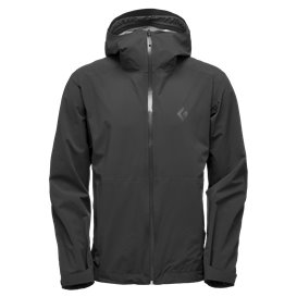 Black Diamond Stormline Stretch Rain Shell Herren Regenjacke black