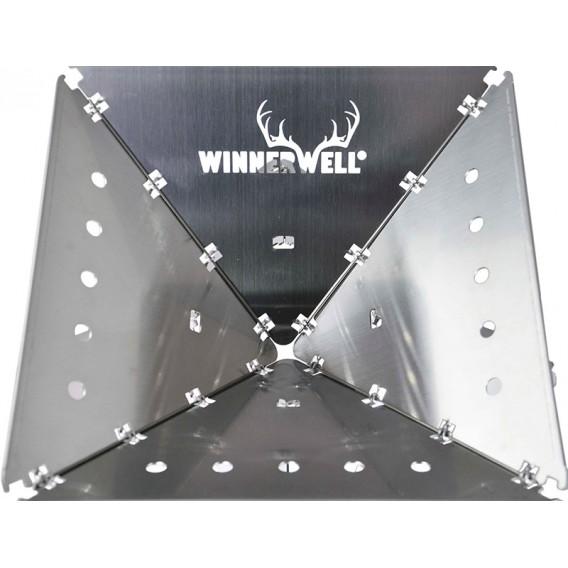 Winnerwell Flat Firepit faltbare Feuerstelle Feuerschale Gr M
