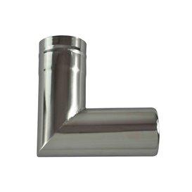 Winnerwell Ersatzrohr 90 Grad Ofenrohr 2,1 Zoll für Nomad oder Woodlander Gr. S