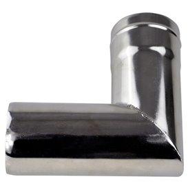 Winnerwell Ersatzrohr 90 Grad Ofenrohr 2,5 Zoll für Nomad oder Woodlander Gr. M