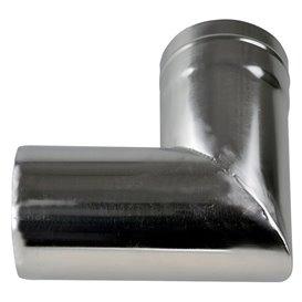 Winnerwell Ersatzrohr 90 Grad Ofenrohr 3,5 Zoll für Nomad oder Woodlander Gr. L
