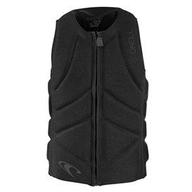 ONeill Slasher Comp Vest Herren Neopren Prallschutzweste acidwash-black