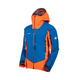 Mammut Eiger Extreme Nordwand Pro HS Hooded Jacket Herren Hardshelljacke arumita-azurit