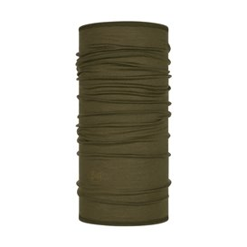 Buff Lightweight Merino Wool Schal Mütze Tuch aus Merinowolle solid bark