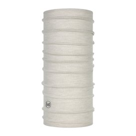 Buff Lightweight Merino Wool Schal Mütze Tuch aus Merinowolle solid cloud