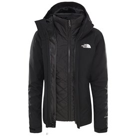 The North Face Carto Triclimate Jacket Damen Doppeljacke Winterjacke black