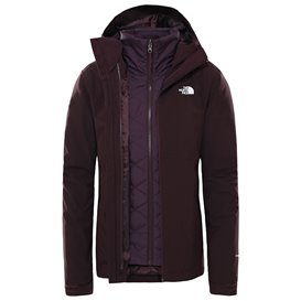 The North Face Carto Triclimate Jacket Damen Doppeljacke Winterjacke root brown