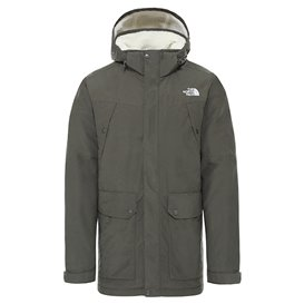 The North Face Katavi Trench Herren Trenchcoat Mantel taupe green