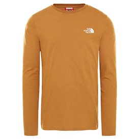 The North Face Longsleeve Easy Tee Herren Langarm Shirt timber tan-vintage white hier im The North Face-Shop günstig online best