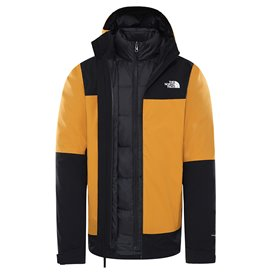 The North Face Mountain Light Triclimate Jacket Herren Doppeljacke Winterjacke citrine yellow-black-black