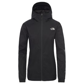 The North Face Quest Jacket Damen Regenjacke black-foil grey