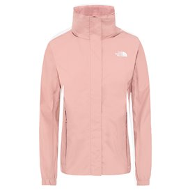 The North Face Resolve 2 Jacket Damen Regenjacke pink clay