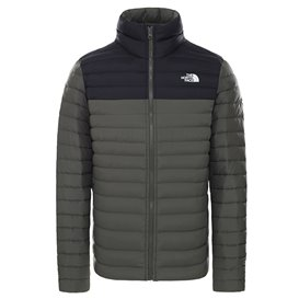 The North Face Stretch Down Jacket Herren Daunenjacke Winterjacke new taupe green-black