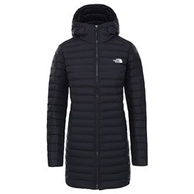 The North Face Stretch Down Parka Damen Daunenparka Wintermantel black