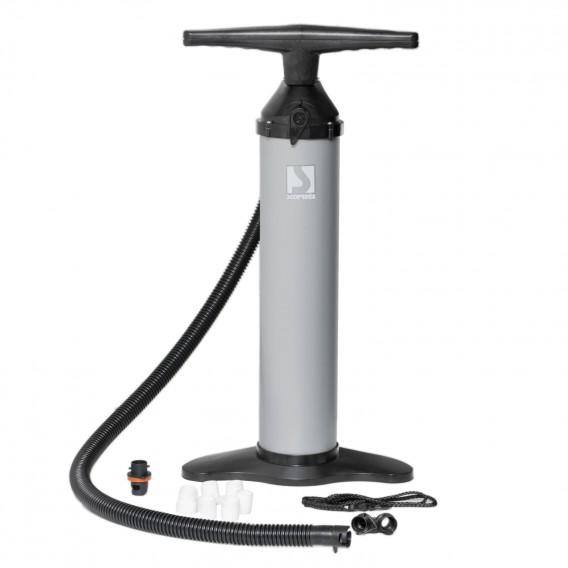 Bravo 110 Double Single Handpumpe Aluminium Pumpe mit Manometer 2x2,5 Liter grau hier im BRAVO-Shop günstig online bestellen