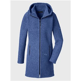 Mufflon Rika Damen Wollmantel Wintermantel atlantic