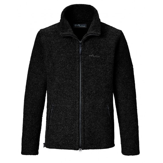 Mufflon Jakob Herren Wolljacke black hier im Mufflon-Shop günstig online bestellen