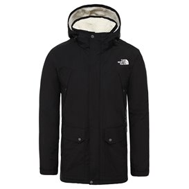 The North Face Katavi Trench Herren Trenchcoat Mantel black