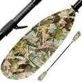 ExtaSea Hunter Vario Fiberglas Doppelpaddel Kajak GFK Paddel 2-teilig camouflage