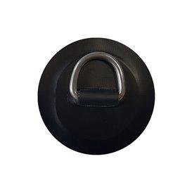 Aqua Marina D-Ring mit Beschlag rund schwarz