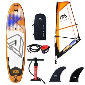 Aqua Marina Blade Windsurf SUP mit 3.0 m2 Segel Stand up Paddle Board Set