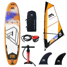 Aqua Marina Blade Windsurf SUP mit 5.0 m2 Segel Stand up Paddle Board Set