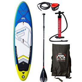 Aqua Marina Beast 10.6 komplett Set aufblasbares Stand Up Paddle Board SUP