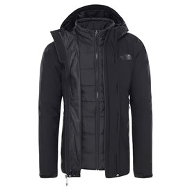 The North Face Carto Triclimate Jacket Herren Doppeljacke Winterjacke black-black